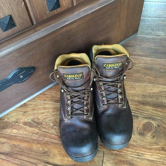 cccc1e10210 Men's Carolina size 8D CA5520 work boots